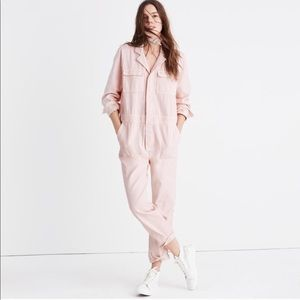 Madewell Pink Overalls